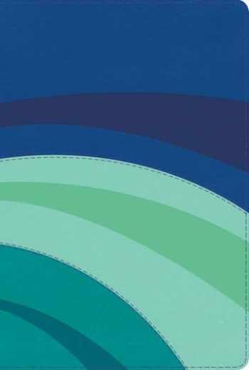 9781586409890-1586409891-RVR 1960 Biblia de Estudio Arco Iris, azul eléctrico/celeste/tuquesa símil piel con índice (Spanish Edition)