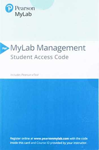 9780135913116-013591311X-2019 MyLab Management with Pearson eText -- Standalone Access Card-- for International Business: The Challenges of Globalization