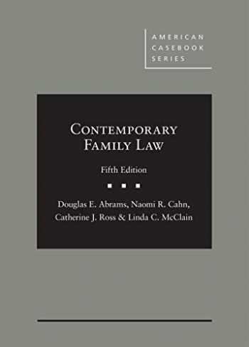 9781647085049-1647085047-Contemporary Family Law (American Casebook Series)