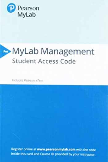 9780135952313-013595231X-2019 MyLab Management with Pearson eText-- Access Card-- for Fundamentals of Human Resource Management
