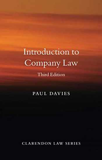 9780198854920-0198854927-Introduction to Company Law (Clarendon Law Series)