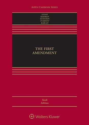 9781543807806-1543807801-The First Amendment (Aspen Casebook)