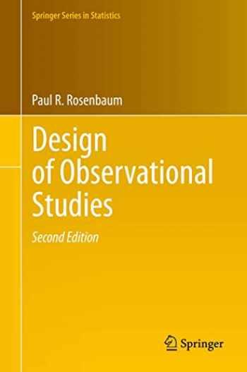 9783030464042-3030464040-Design of Observational Studies (Springer Series in Statistics)