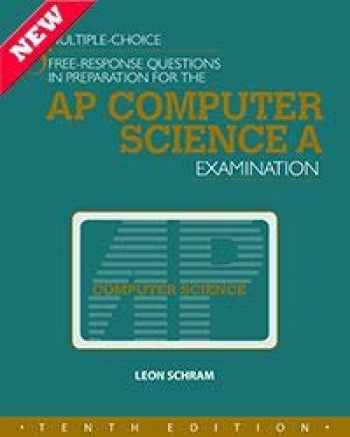 9781934780589-1934780588-MULTIPLE-CHOICE & FREE-RESPONSE QUESTIONS IN PREPARATION FOR THE AP COMPUTER SCIENCE A EXAMINATION - 10TH ED