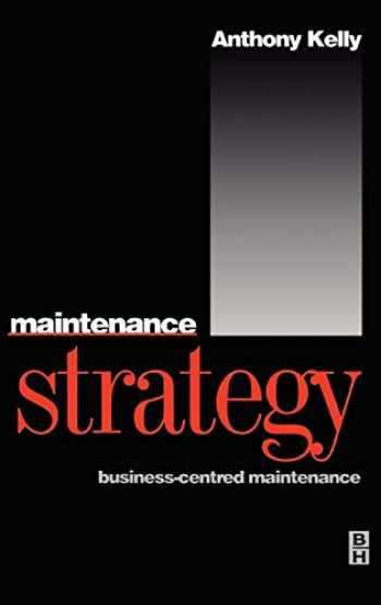 9780750624176-0750624175-Maintenance Strategy