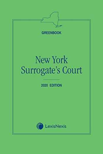 9781522181682-1522181687-New York Surrogate's Court (Greenbook)