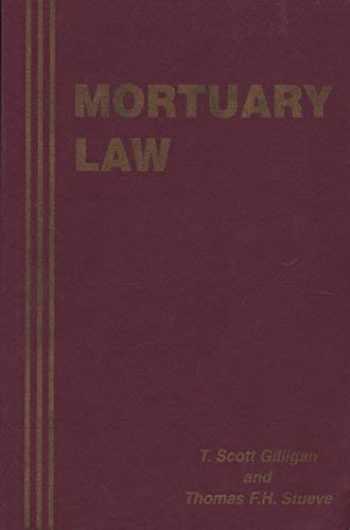9781883031022-1883031028-Mortuary Law