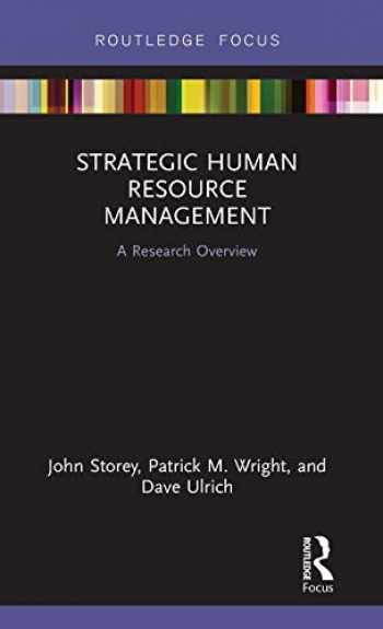 9781138591998-1138591998-Strategic Human Resource Management: A Research Overview (State of the Art in Business Research)