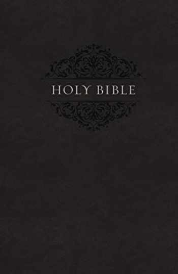 9780310450474-0310450470-NIV, Holy Bible, Soft Touch Edition, Leathersoft, Black, Comfort Print