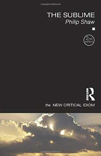 9781138859647-1138859648-The Sublime (The New Critical Idiom)