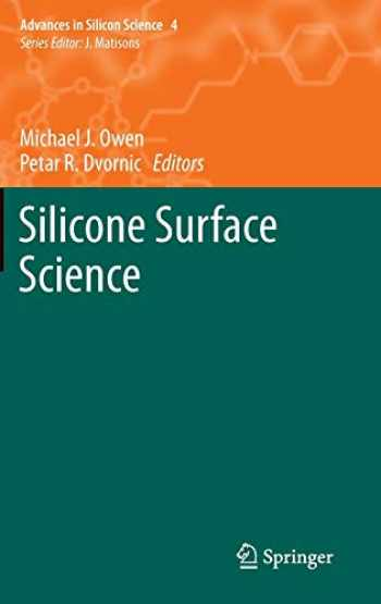 9789400738751-9400738757-Silicone Surface Science (Advances in Silicon Science (4))