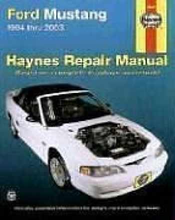9781563925092-1563925095-Haynes Ford Mustang 1994-2003 (Haynes Manuals)
