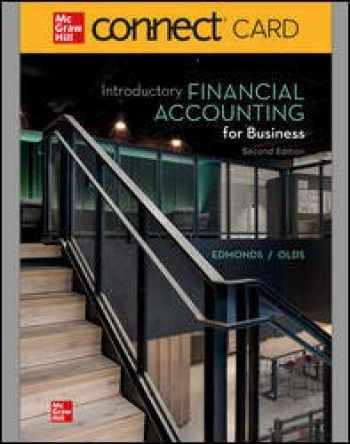 9781264096916-1264096917-INTRODUCTORY FINANCIAL ACCOUNT FOR BUSINESS CONNECT ACCESS