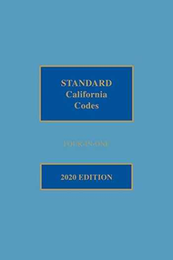 9781522181644-1522181644-Matthew Bender Standard California Codes: 4-in-1
