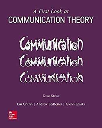 9781259913785-1259913783-A FIRST LOOK AT COMMUNICATION THEORY 10E
