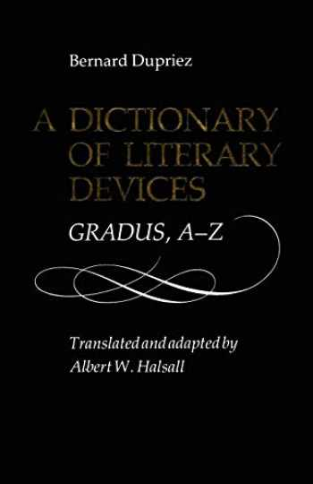 9780802068033-0802068030-A Dictionary of Literary Devices: Gradus, A-Z (Heritage)