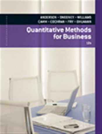 9780840062338-0840062338-Quantitative Methods for Business (with Printed Access Card)