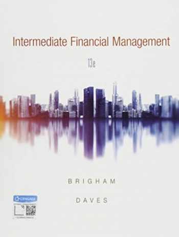 9781337395083-1337395080-Intermediate Financial Management