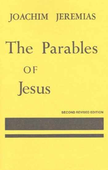 9780023605109-0023605103-Parables of Jesus