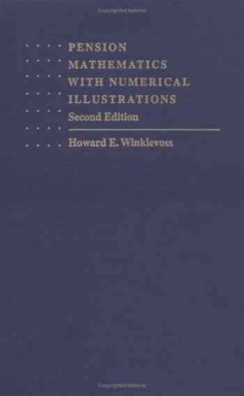 9780812231960-0812231961-Pension Mathematics with Numerical Illustrations (Pension Research Council Publications)