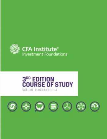 9781946442741-1946442747-CFA Institute Investment Foundations® Program, 3rd Edition, Volume 1