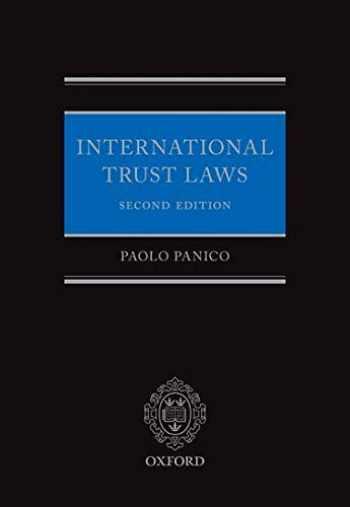 9780198754220-0198754221-International Trust Laws