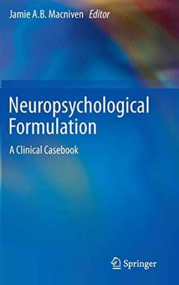 9783319183374-3319183370-Neuropsychological Formulation: A Clinical Casebook