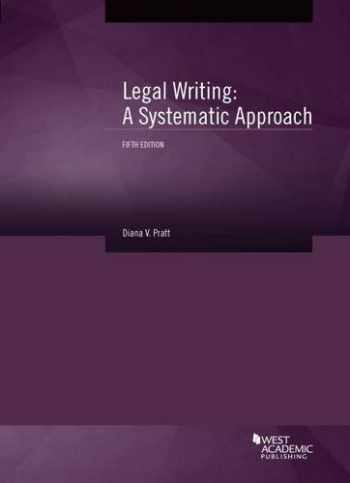 9781628103977-1628103973-Legal Writing: A Systematic Approach, 5th (Coursebook)