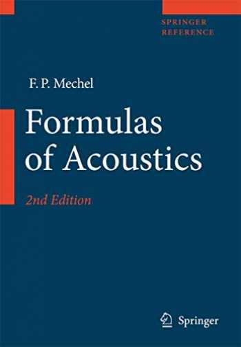 9783540768326-3540768327-Formulas of Acoustics (Springer Reference)