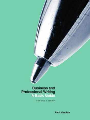 9781554814718-1554814715-Business and Professional Writing: A Basic Guide - Second Edition