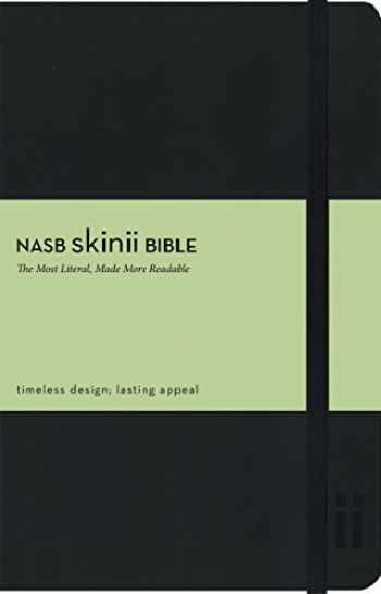 9780310423669-031042366X-NASB, Skinii Bible, Leathersoft, Black