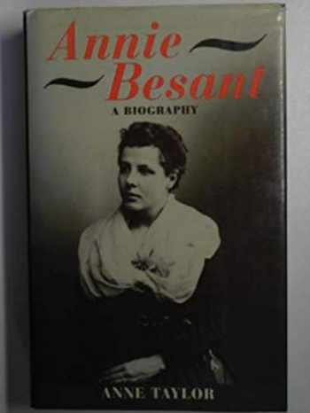 9780192117960-0192117963-Annie Besant: A Biography