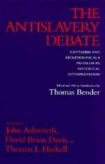 9780520077799-0520077792-The Antislavery Debate: Capitalism and Abolitionism as a Problem in Historical Interpretation