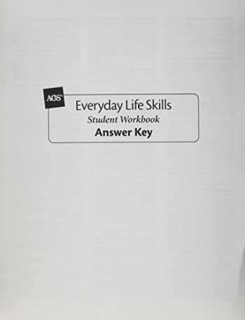 9780785425564-078542556X-EVERYDAY LIFE SKILLS STUDENT WORKBOOK ANSWER KEY