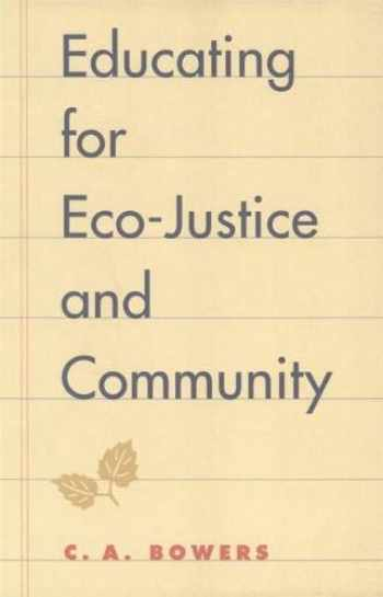 9780820323060-0820323063-Educating for Eco-Justice and Community
