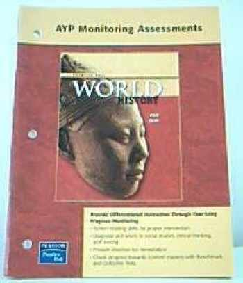 9780131299795-0131299794-WORLD HISTORY PROGRESS MONITORING ASSESSMENTS NATIONAL SURVEY EDITION   2007