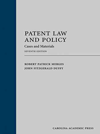 9781632824516-1632824515-Patent Law and Policy: Cases and Materials