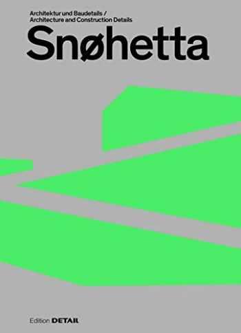 9783955534561-3955534561-Snøhetta: Architektur Und Baudetails / Architecture and Construction Details (Detail Special) (English and German Edition)