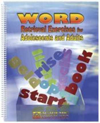 9781575030098-1575030098-Word Retrieval Exercises for Adolescents & Adults