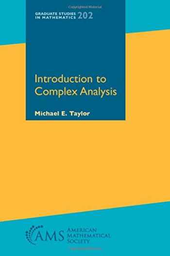 9781470452865-1470452863-Introduction to Complex Analysis (Graduate Studies in Mathematics)