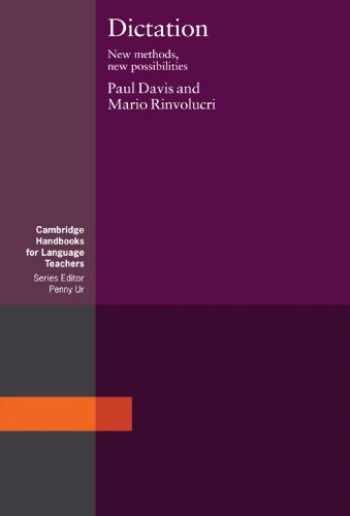9780521348195-0521348196-Dictation: New Methods, New Possibilities (Cambridge Handbooks for Language Teachers)