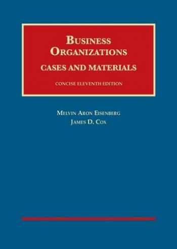 9781609304362-1609304365-Business Organizations Cases and Materials  (University Casebook) Concise Edition