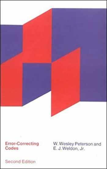 9780262527316-0262527316-Error-Correcting Codes, second edition (The MIT Press)