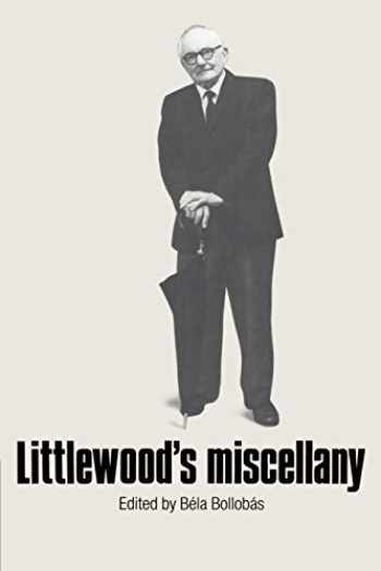 9780521337021-052133702X-Littlewood's Miscellany