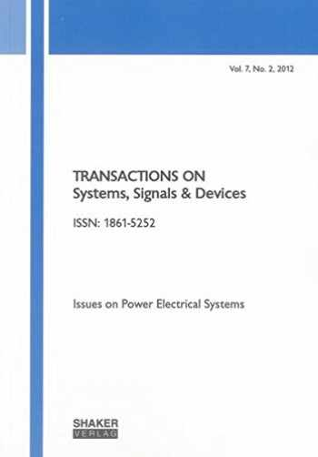 9783844016093-3844016090-Transactions on Systems, Signals and Devices Vol. 7, No. 2: Issues on Power Electrical Systems