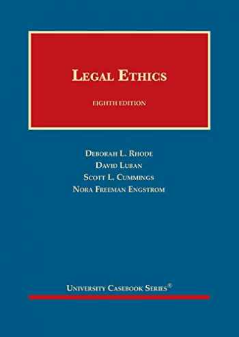 9781642426892-164242689X-Legal Ethics (University Casebook Series)