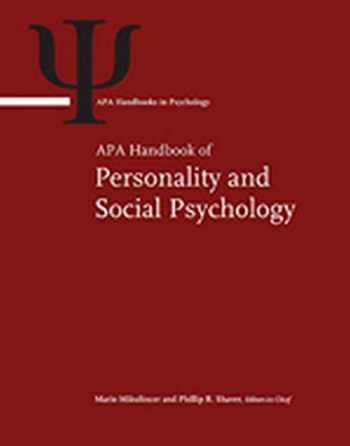 9781433816994-1433816997-APA Handbook of Personality and Social Psychology (APA Handbooks in Psychology)