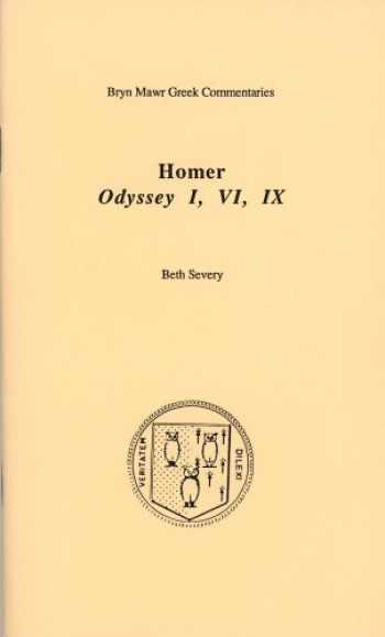 9780929524665-0929524667-Odyssey I, VI, IX (Bryn Mawr Commentaries, Greek) (Ancient Greek and English Edition)