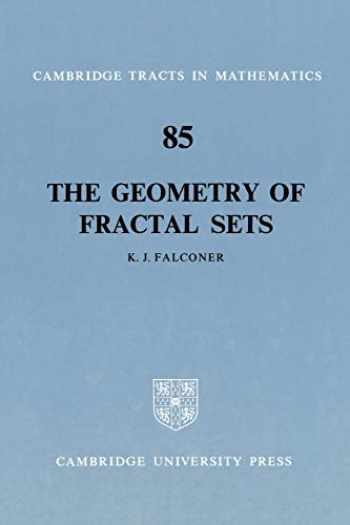 9780521337052-0521337054-The Geometry of Fractal Sets (Cambridge Tracts in Mathematics, Series Number 85)
