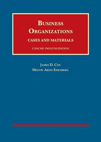 9781683288619-1683288610-Business Organizations, Cases and Materials, Concise (University Casebook Series)